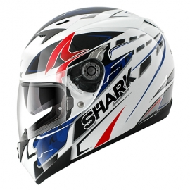Shark S700S- STIPPLE-WBR Helemet