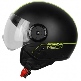 NEON STREET HELMET-BLACK/YELLOW