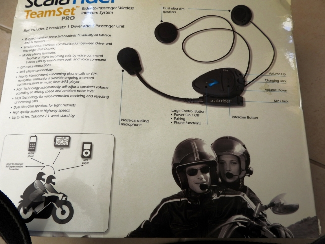 Scaler Rider Intercom set