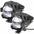 LED Motorcycle fog lights for HOnda Varadero, BMW GS, Yamaha tenere