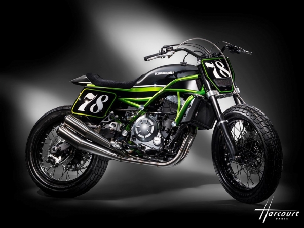 Kawasaki's Z650 gets a Flat Track makeover