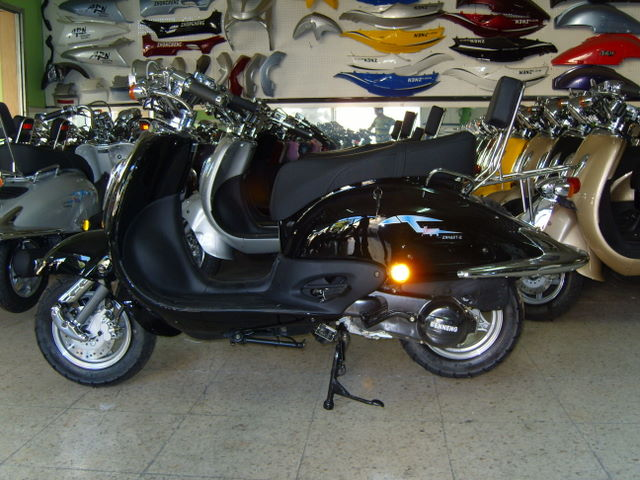 Joker 125cc black