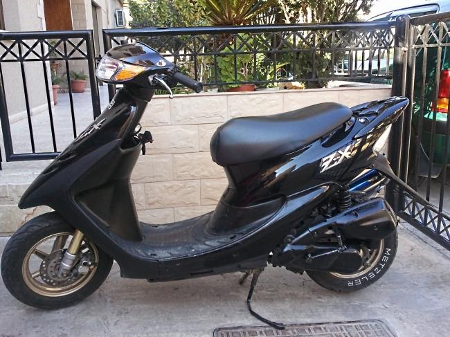Honda Dio zx [#13891EN]   Cyprus Motorcycles