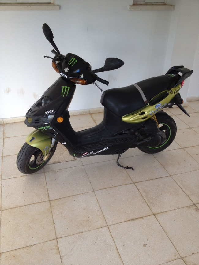 Suzuki Katana Ay 50 For Sale 14419en Cyprus Motorcycles
