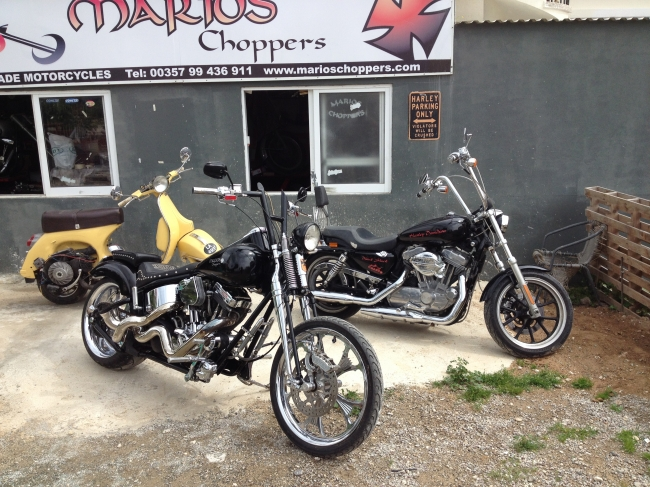 Harley Davidson Sportster 883 Xl Full Custom Made Old School Chopper 3