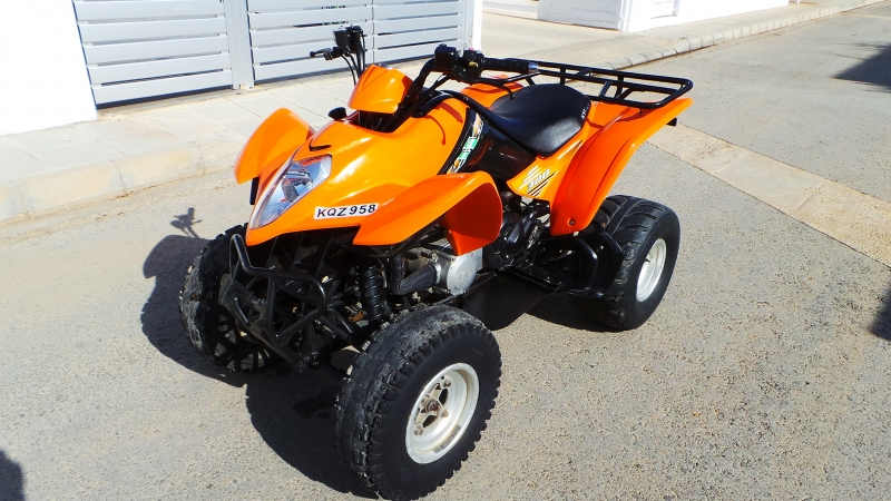 kymco maxxer 300 atv quad bike 17371en cyprus motorcycles. Black Bedroom Furniture Sets. Home Design Ideas