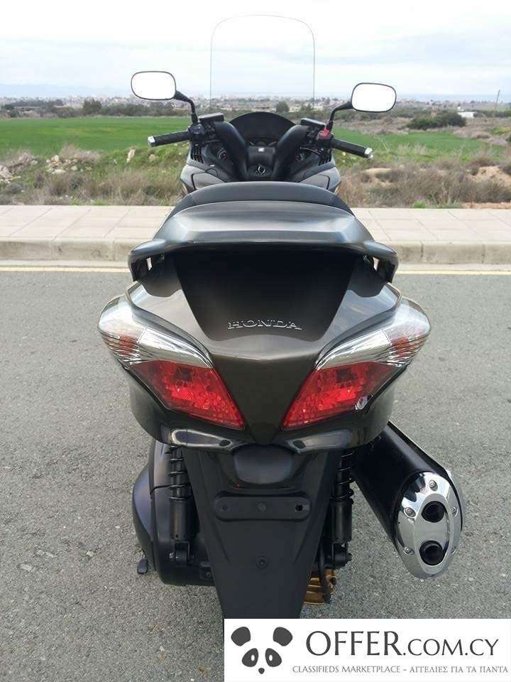 honda silver wing 600 cc 17855en cyprus motorcycles. Black Bedroom Furniture Sets. Home Design Ideas