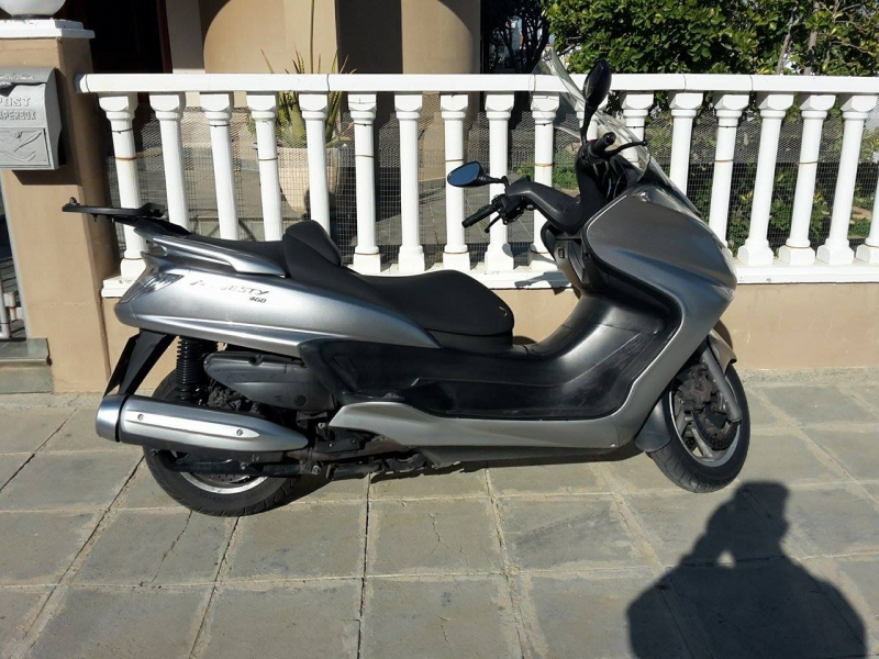 Yamaha majesty 400 17500en cyprus motorcycles for Yamaha majesty 400 for sale near me