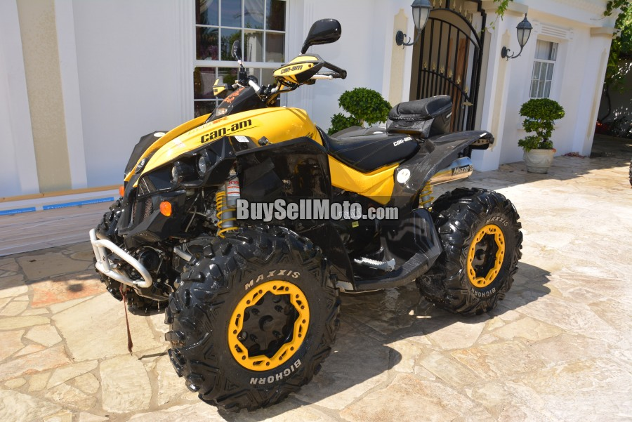 can am brp renegade 800 2009 for sale in paphos 19130en cyprus motorcycles. Black Bedroom Furniture Sets. Home Design Ideas