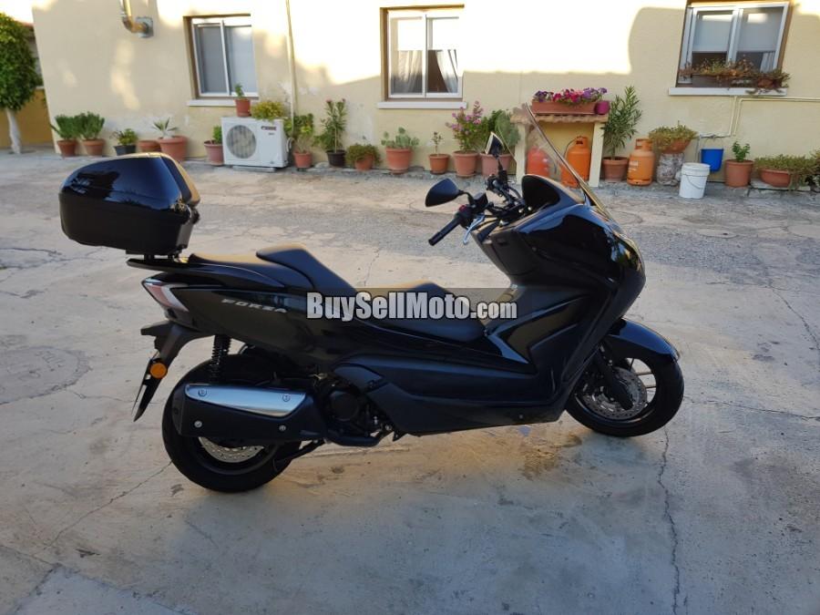 honda forza 2017 20515en cyprus motorcycles. Black Bedroom Furniture Sets. Home Design Ideas