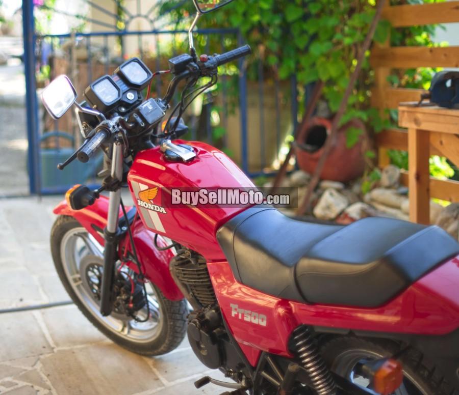 Honda Dealers In Ct >> HONDA FT 500 1982 [#20521EN]   Cyprus Motorcycles