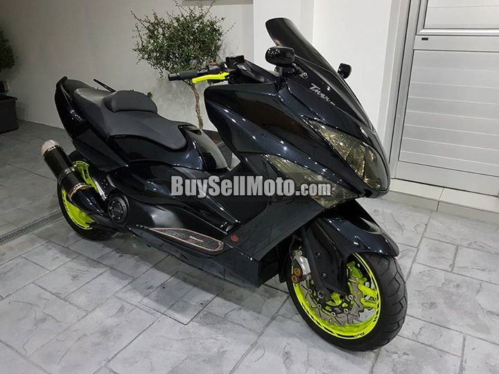 yamaha tmax 500 10 2010 20726en cyprus motorcycles. Black Bedroom Furniture Sets. Home Design Ideas