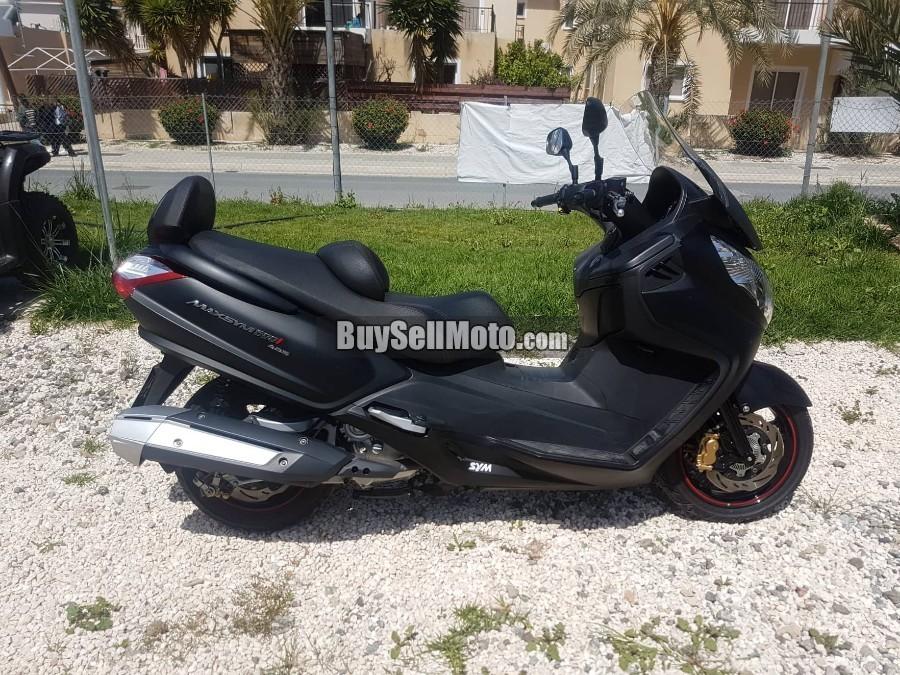 SYM MaxSym 600i ABS Special Edition 2017 [#22529EN] | Cyprus Motorcycles